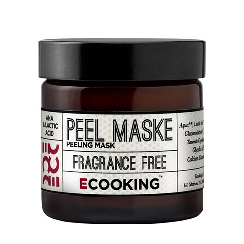 Ecooking peeling face mask - an intense but great face mask when your skin needs a pick-me-up