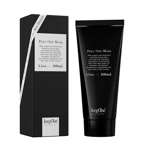 The original black peel off mask that clears pores from Jorgobe.