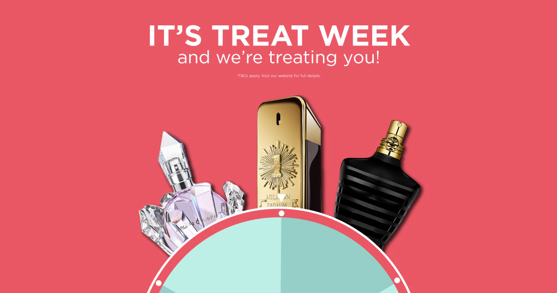 The Fragrance Shop Treat Week promotion