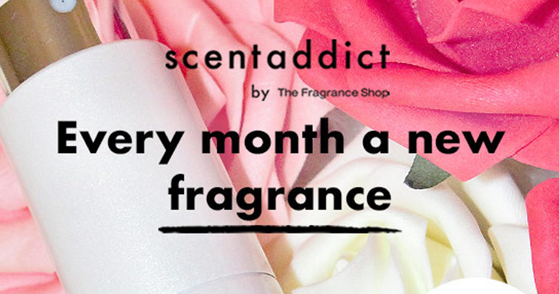 Try a new fragrance every month with scentaddict perfume subscription at The Fragrance Shop