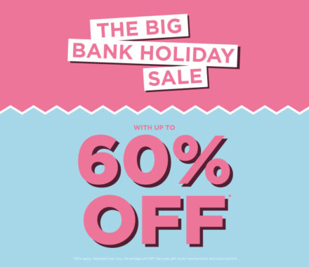 The Fragrance Shop's Big Bank Holiday Sale up to 60% off*
