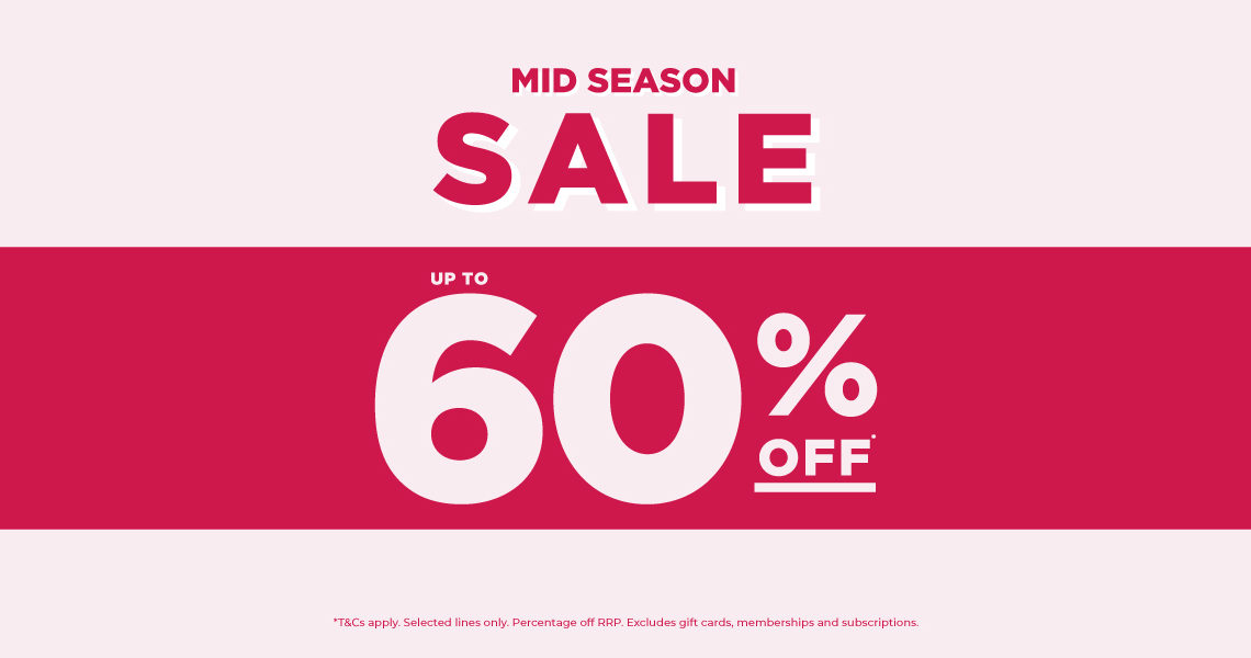 Shop the Mid Season Sale at The Fragrance Shop