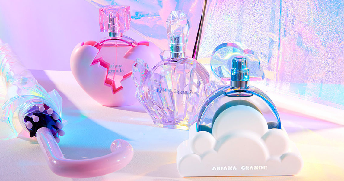 Win an Ariana Grande perfume bundle from The Fragrance Shop