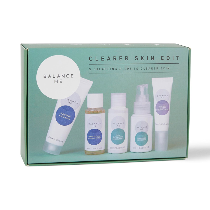 How to get clear skin with the Balance Me Clearer Skin Edit