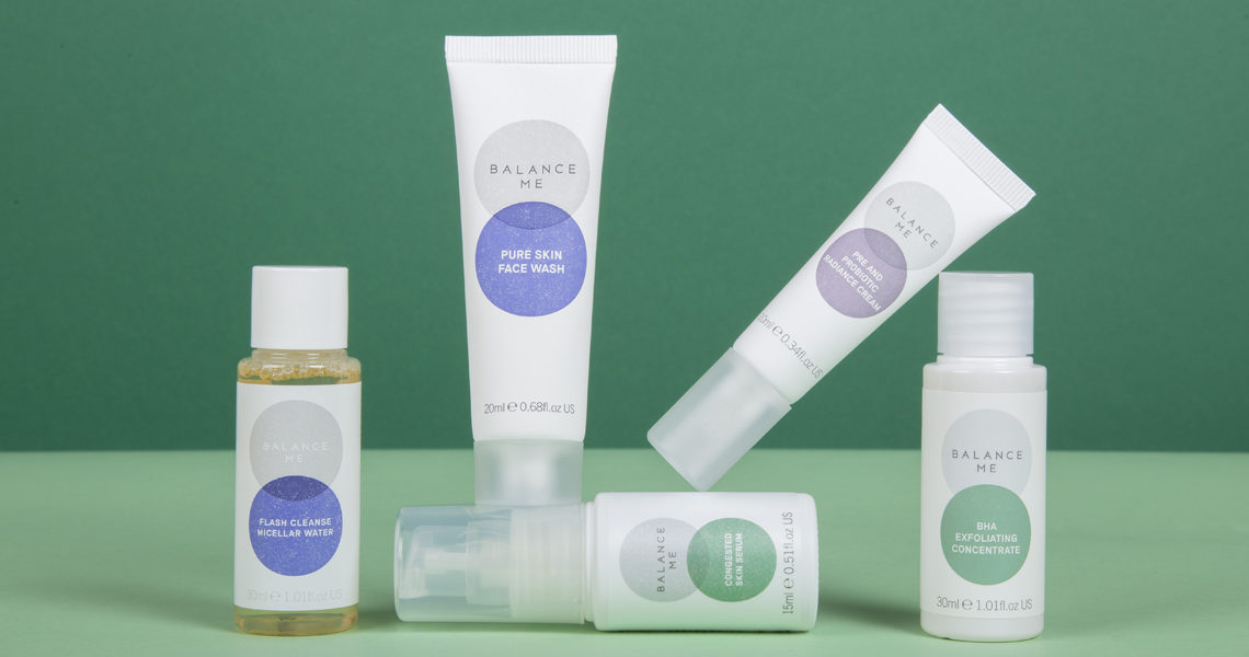 Shop Balance Me Clearer Skin Edit from Beauty at The Fragrance Shop