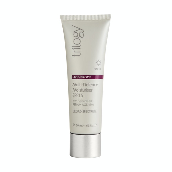 Shop Trilogy Age Proof Multi-Defence Moisturiser SPF15 from Beauty at The Fragrance Shop