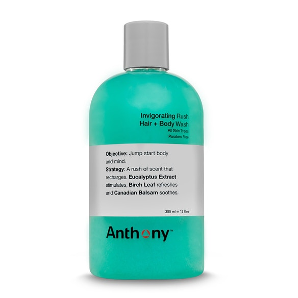 Shop best men's grooming products including Anthony Invigorating Rush Hair & Body Wash 355ml