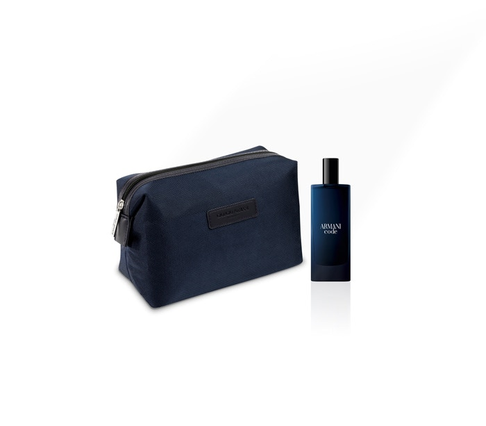 Shop the new Armani Code for Father's Day gifts with a free wash bag