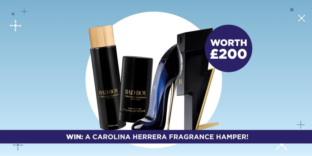 Win £200 perfume hamper in the Father's Day gift guide brochure
